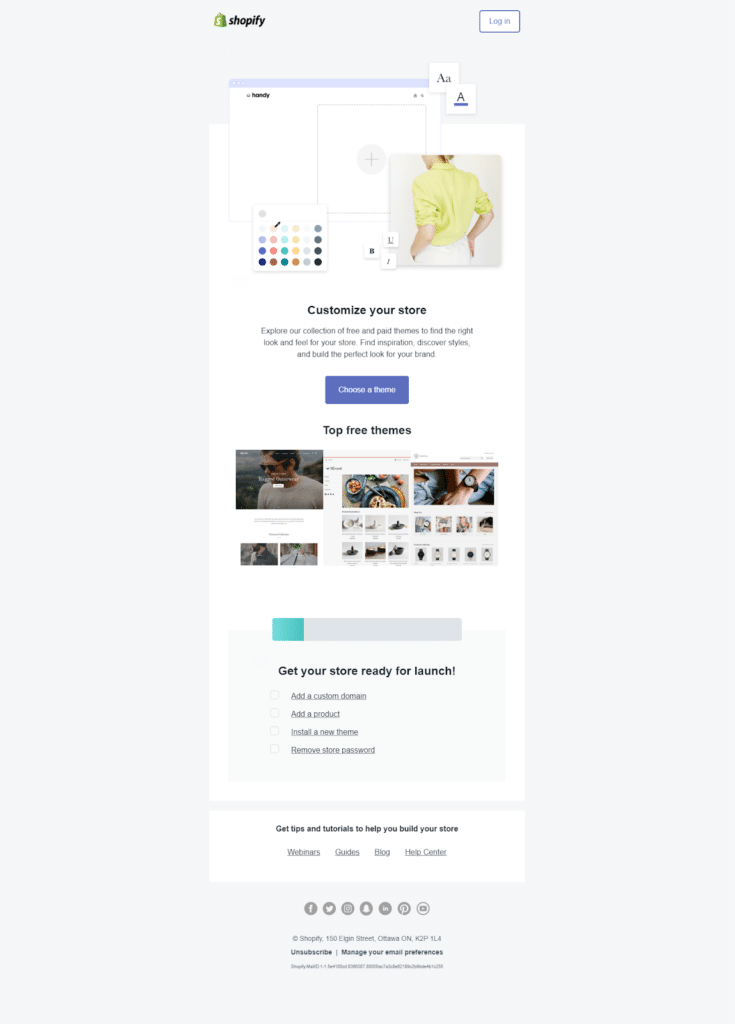 shopify onboarding email 4