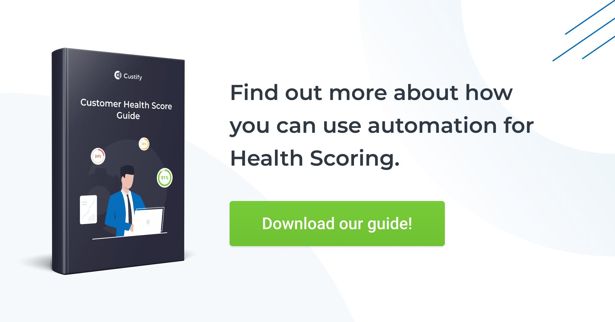 customer health score guide